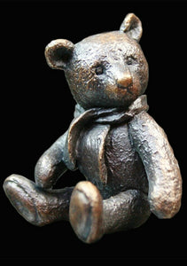 Monty Teddy Bear by Michael Simpson