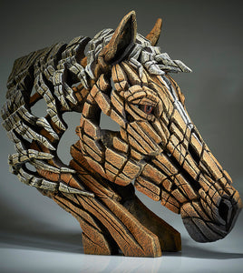 Edge Sculpture Palomino Horse