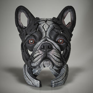 Edge Sculpture French Bulldog Pied Black & White by Matt Buckley