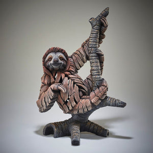 Edge Sculpture Three Toed Sloth by Matt Buckley