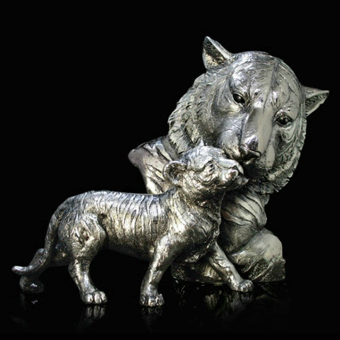 Richard Cooper Studio Tiger & Cub by Keith Sherwin