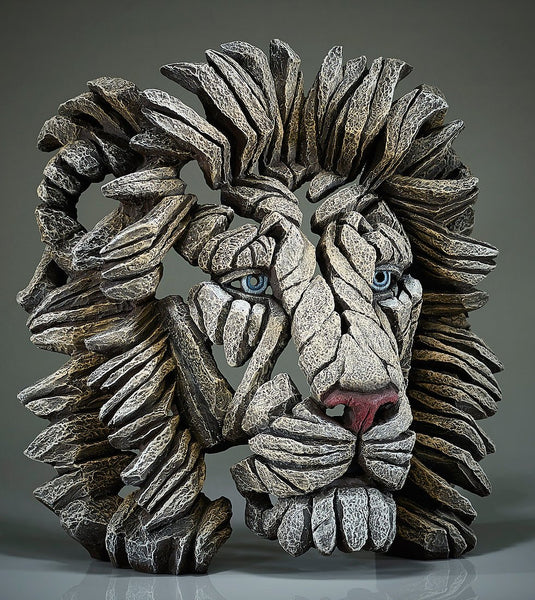 Edge Sculpture White Lion
