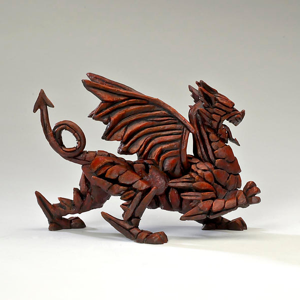 Edge Sculpture Dragon - Red by Matt Buckley PreOrder for Feb 2021 Delivery