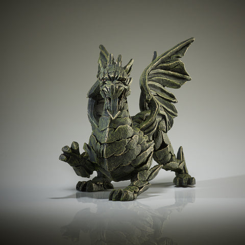 Edge Sculpture Dragon - Green