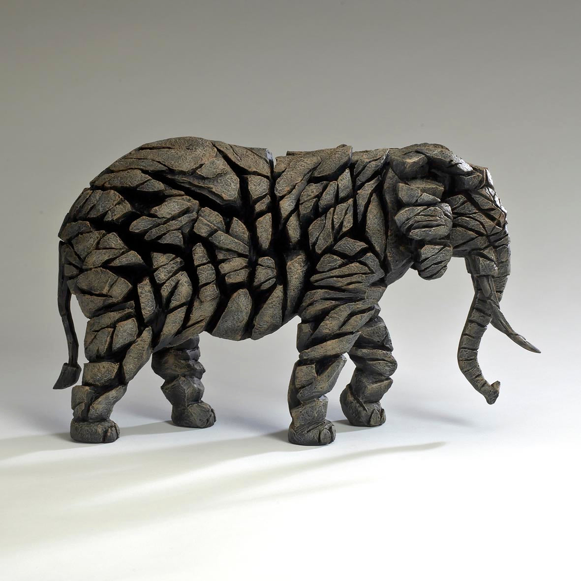 Edge Sculpture Elephant - Mocha