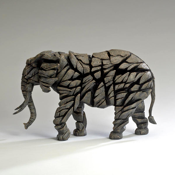 Edge Sculpture Elephant - Mocha by Matt Buckley