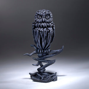 Edge Sculpture Owl - Midnight Blue