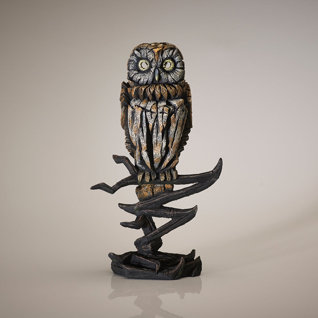 Edge Sculpture Owl - Tawny by Matt Buckley PreOrder for Feb 2021 Delivery