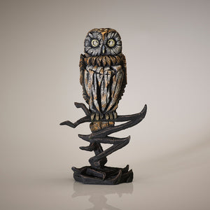 Edge Sculpture Owl - Tawny by Matt Buckley