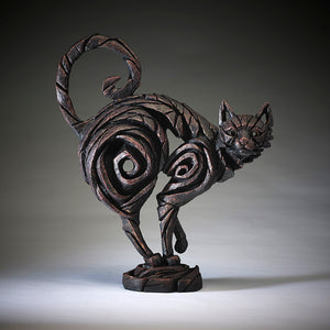 Edge Sculpture Cat - Black