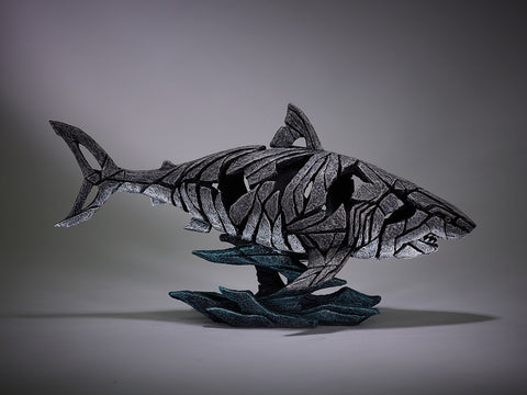 Edge Sculpture Shark by Matt Buckley