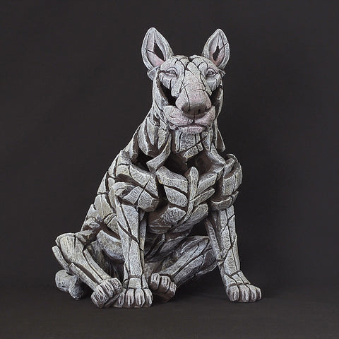 Edge Sculpture Bull Terrier - White by Matt Buckley Temporarily Out of Stock Preorder for July
