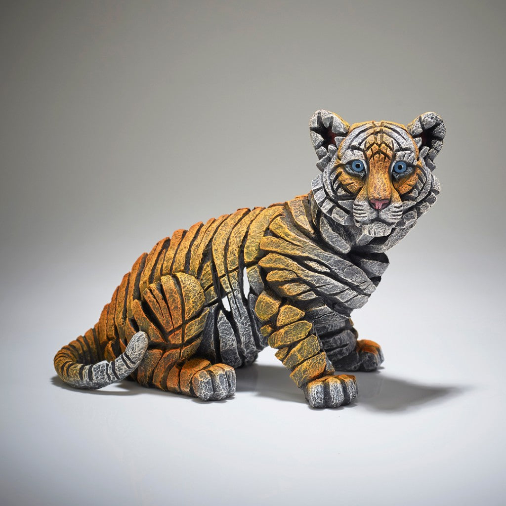 Edge Sculpture Tiger Cub by Matt Buckley