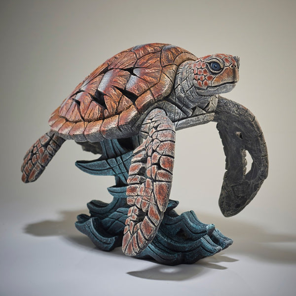 Edge Sculpture Sea Turtle by Matt Buckley