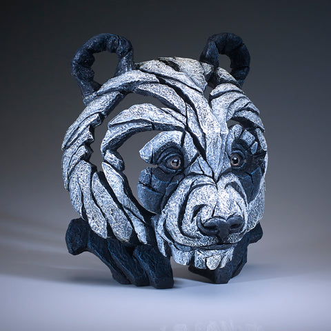 Edge Sculpture Panda Bust