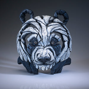 Edge Sculpture Panda Bust by Matt Buckley