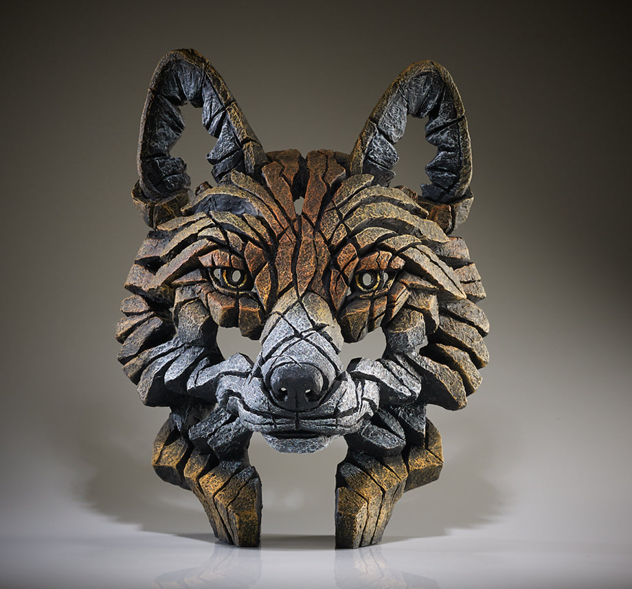 Edge Sculpture Fox Bust