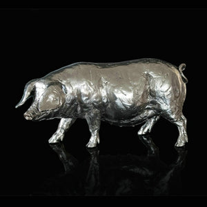 Richard Cooper Studio Pig by Michael Simpson