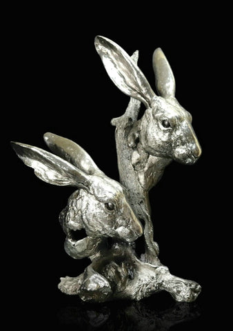 Richard Cooper Studio Hares by Keith Sherwin