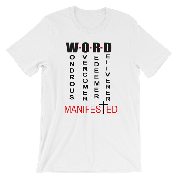 Word Manifested T-Shirt