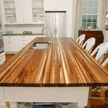 Black Walnut Kitchen Countertop