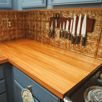 Cherry Wood Kitchen Countertop