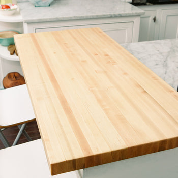 Maple Wood Kitchen Countertop