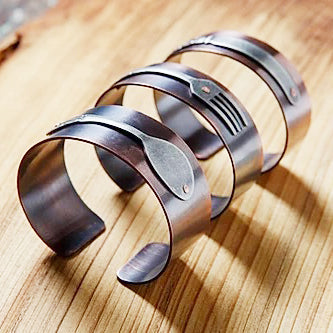 Fork, Spoon, Knife Bracelet Cuffs