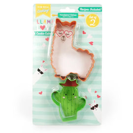 Llama Love Set of Two Cookie Cutters