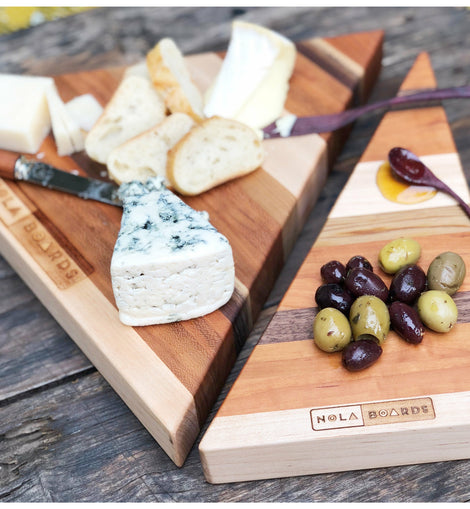 Marigny Triangle Cheese Board Set