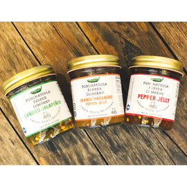 Ponchatoula Pepper Jelly Trio