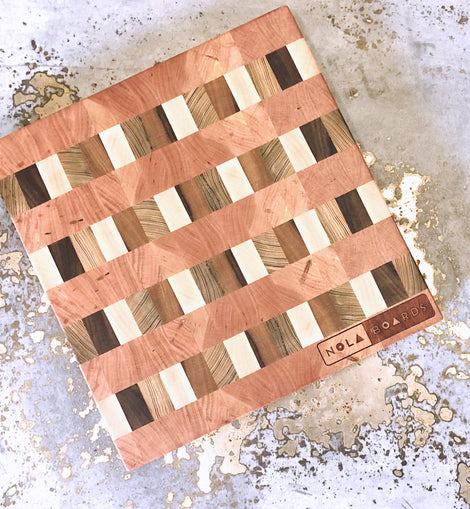 Vieux Carre Board - End Grain