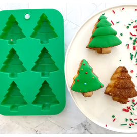 Winter Wonderland Tree Cupcake Mold