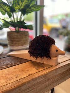 Hedgehog Door Stopper- Redecker