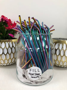 Life Without Waste- Metal Straw Medium Width