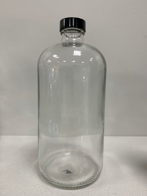 Glass Bottle with cap- 1000 ml