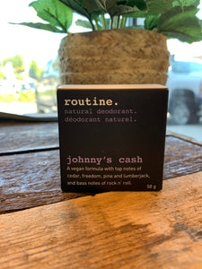 Routine Deodorant - Johnnys Cash (Vegan)