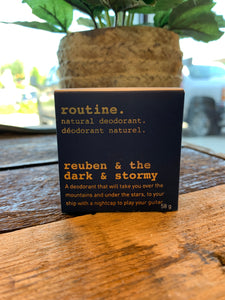 Routine Deodorant - Reuben & the Dark & Stormy
