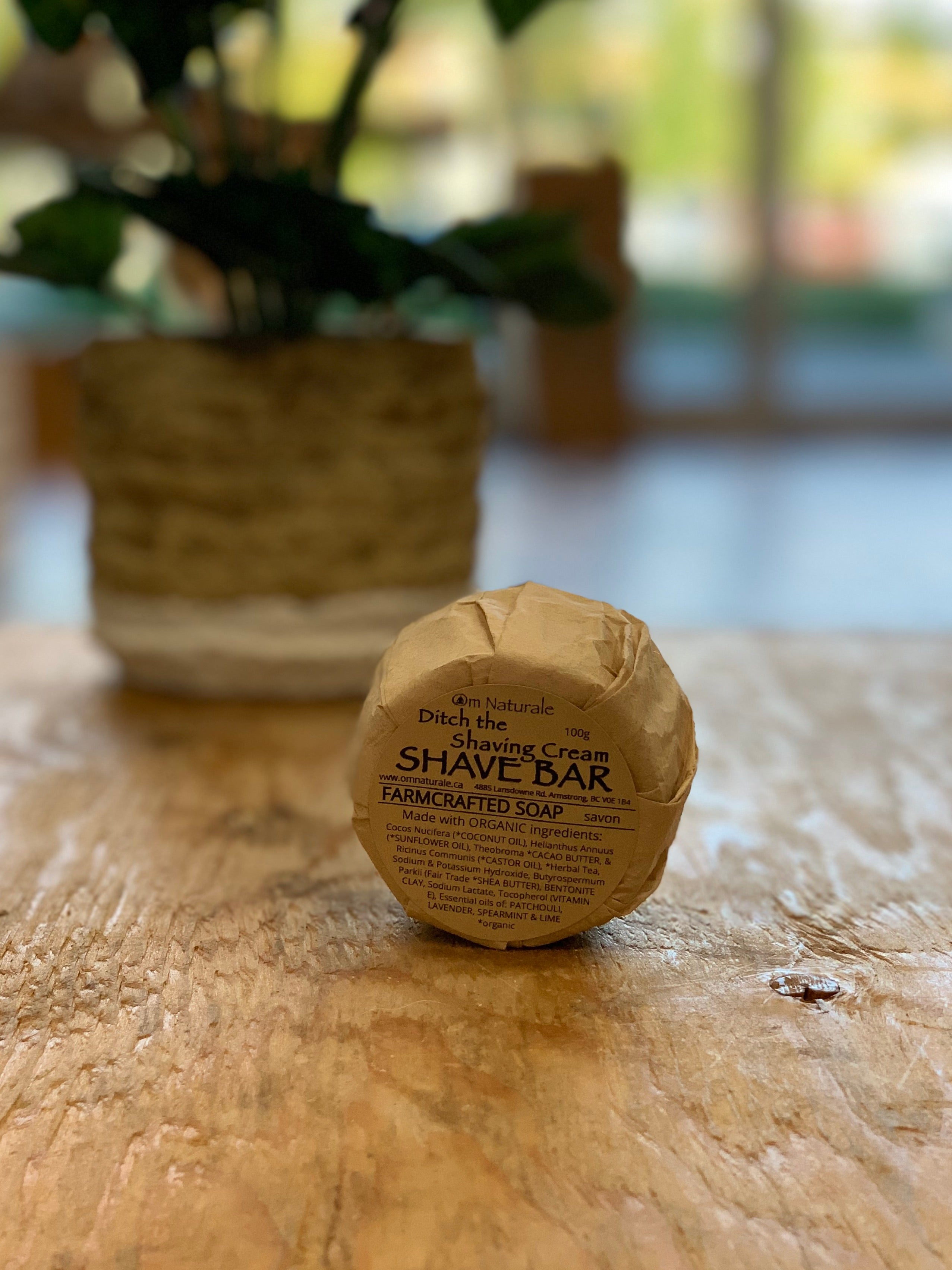 Om Naturale - Ditch the Shaving Cream Shave Bar