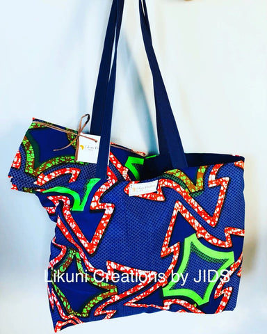 Tote Bag - Navy- For Chilling Girls