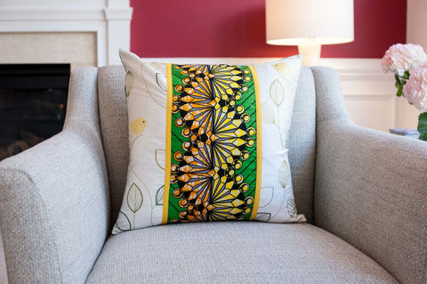 African Decorative Pillow - Mpose