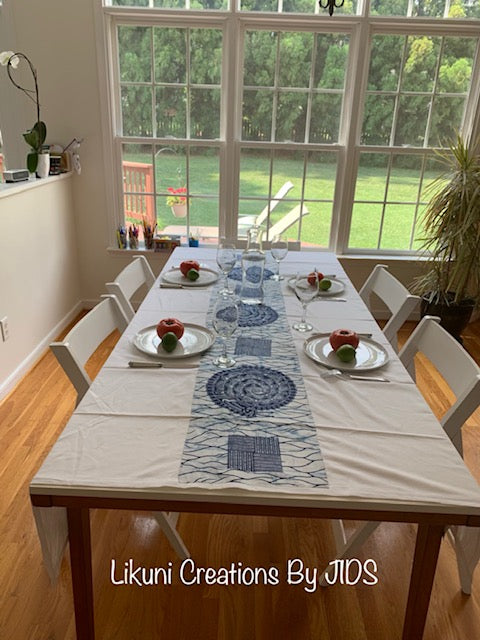 Lubumbashi Tablecloth- African Inspired Home Decor