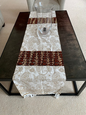 Coquillage Runner - African Inspired Home Decor