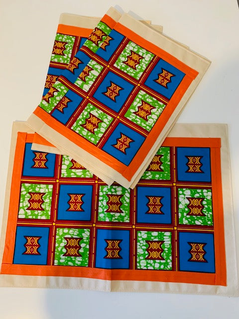 Sekia Placemats- African Inspired Home Decor