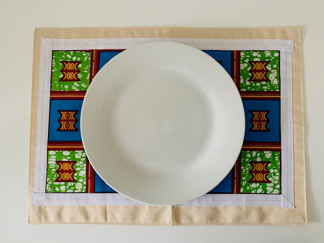 Zinga Placemats- African Inspired Home Decor