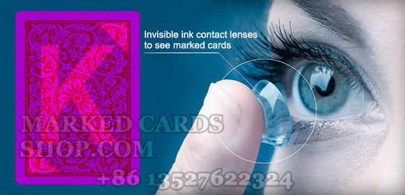 contact lenses for cheating playing cards