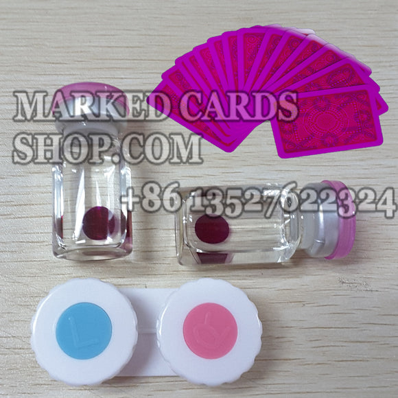 marked cards contact lenses for cards tricks