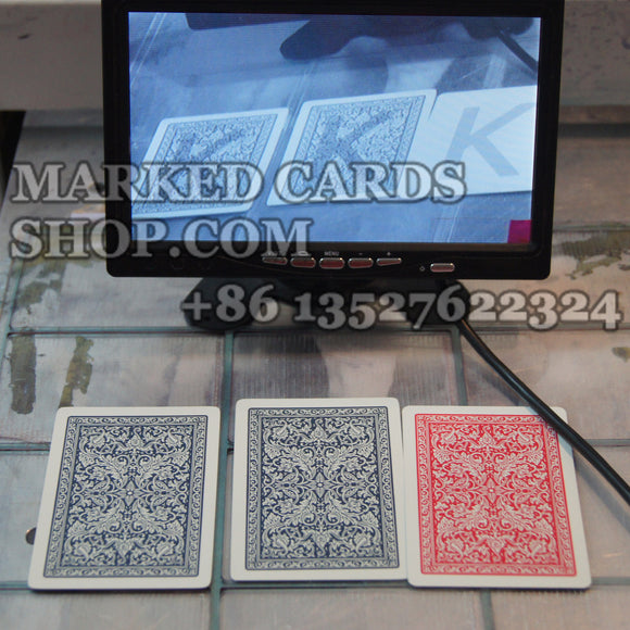Special back marks IR poker cards