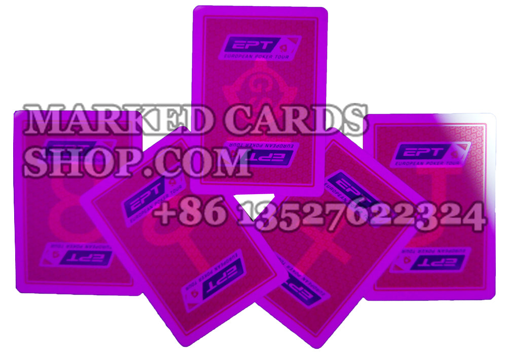 Invisible ink marked deck Copag EPT plastic playing card