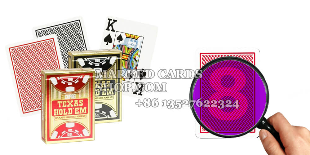How to Make Copag Texas Holdem Marked Cards